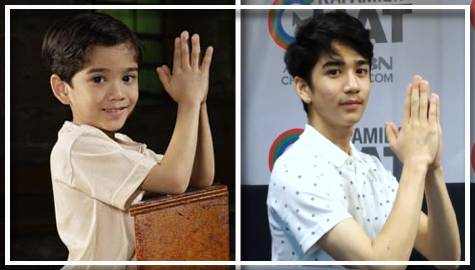 Zaijian mimics younger self as May Bukas Pas Santino in this Throwback Challenge