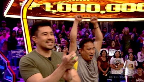 WATCH: Eric Nicolas, pinakabagong milyonaryo sa Minute To Win It! Image Thumbnail