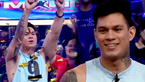 WATCH: Zeus Collins is the new millionaire of Minute To Win It Last Man Standing! Thumbnail