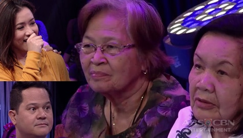 Minute To Win It: Mama Mila at Mama Bob, may mensahe para kina Angeline at Bayani Image Thumbnail