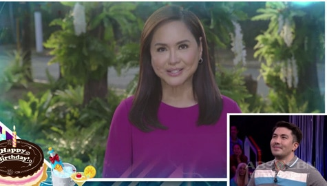 Minute To Win It: Ms. Charo Santos' birthday message for Luis Manzano Image Thumbnail