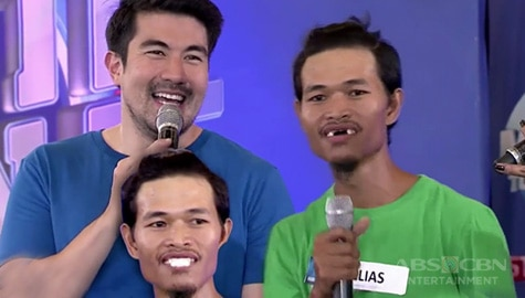 Minute To Win It: Luis, nangakong ipapaayos ang ngipin ng Barangay player na si Kuya Elias Image Thumbnail