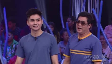 Minute To Win It: Ryle, tinuruan ang kanyang Tito Randy ng Hashtag dance moves Image Thumbnail