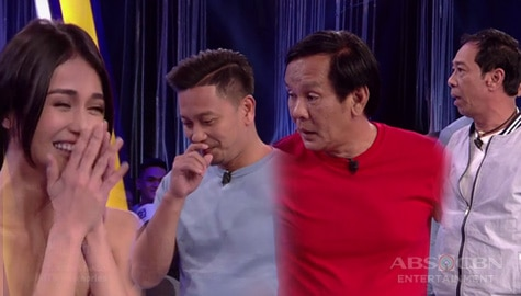 Minute To Win It: Jhong, Joey at Long, nagpagalingan ng diskarte kay Cindy Image Thumbnail