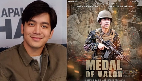 Joshua Garcia shares how his role in #MMKMedalofValor challenged him  Image Thumbnail