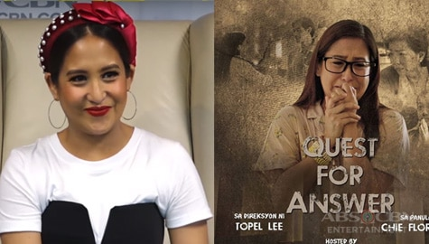 Jolina Magdangal on her MMK return Image Thumbnail