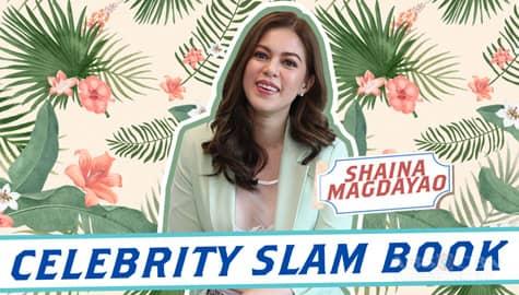 Shaina Magdayao on Kapamilya Celebrity Slam Book Image Thumbnail