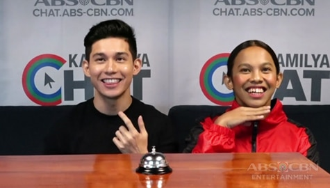 Awra vs Fino Kapamilya Chat's 5 Seconds Challenge Image Thumbnail