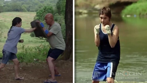 WATCH: Jane De Leon shows off impressive fighting skills on Maalaala Mo Kaya