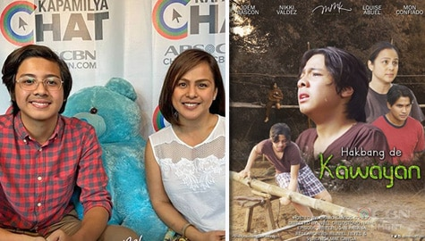 "Nikki Valdez and Louise Abuel talk about their roles in MMK ""Hakbang de Kawayan"" Image Thumbnail"