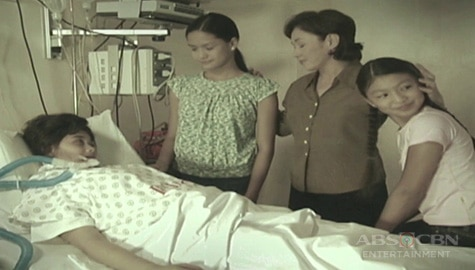 "WATCH: Young Nadine Lustre and Erich Gonzales' touching scenes with Vilma Santos and Maja Salvador in MMK ""Regalo"" Image Thumbnail"