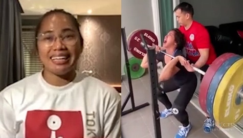 MMK Shorts: Hidilyn on her frustrations as an athlete Image Thumbnail