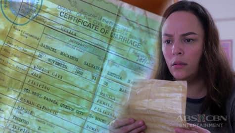 Nang Ngumiti Ang Langit: Ruth, sinilip ang ipinatago sa kanya ni Ella na marriage certificate Image Thumbnail