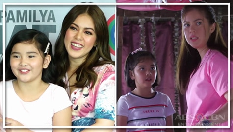 Shaina and Sophia talk about their first scene together in Nang Ngumiti Ang Langit  Image Thumbnail