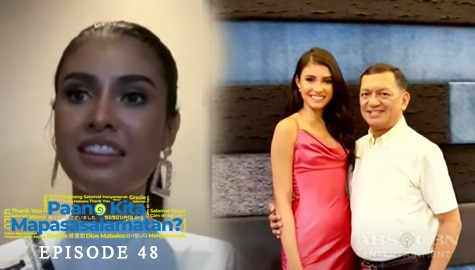 Ang Kuwento ng Pasasalamat ni Miss Universe PH 2020 Rabiya Mateo | Episode 48 Image Thumbnail