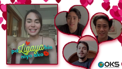"EP 6: Ivana Alawi's ""Gigil Mo Ako Beh"" Challenge for Kit, Argel and Raven 