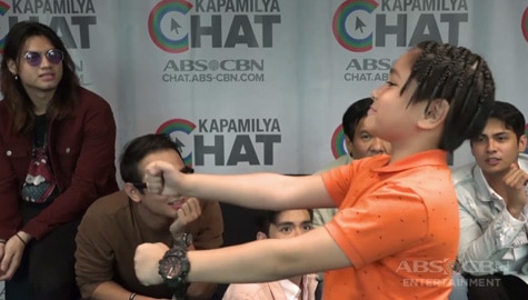 WATCH: Pamilya Ko's Mabunga boys play charades Image Thumbnail