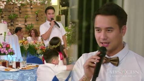 Pamilya Ko: Chico, nagbigay ng mensahe sa mga dumalo sa kasal nina Luz at Fernan Image Thumbnail