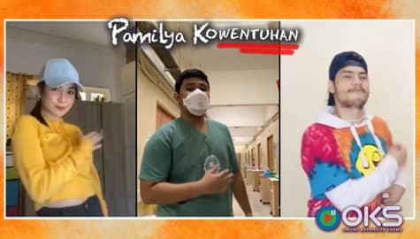 WATCH: MakApol, nakasayaw ang frontliner na si Ron Jay Cuaresma | Pamilya Kowentuhan Image Thumbnail