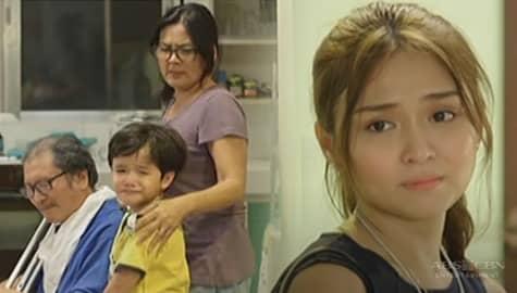 Pangako Sa'Yo: Yna, nagpaalam na sa kanyang pamilya Image Thumbnail