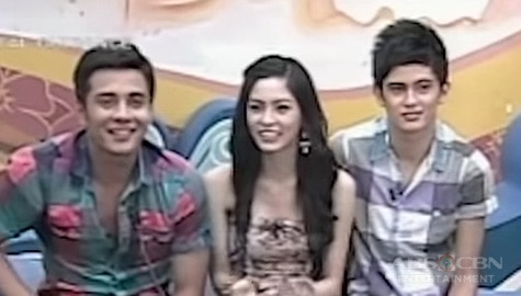 PBB Balikbahay: Big Brother, kinumusta ang kanyang Big Winners na sina Ejay Falcon, Kim Chiu at James Reid Image Thumbnail