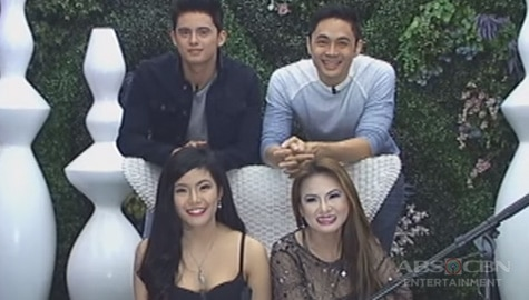 PBB Balikbahay: Dating big winners na sina James, Slater, Myrtle at Keanna, kinumusta ni Kuya Image Thumbnail