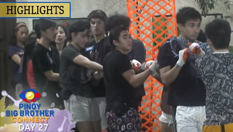 Day 27: Housemates, dumaan sa new year task ni Kuya | PBB Connect Image Thumbnail
