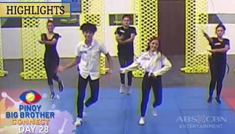 Day 28: Housemates, sumabak na sa 4th weekly task ni Kuya | PBB Connect Image Thumbnail
