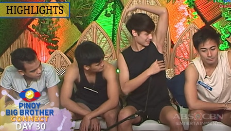 Day 30: Kuya, kinamusta ang kili-kili nina Kyron, Liofer, Kobie at Chico | PBB Connect Image Thumbnail