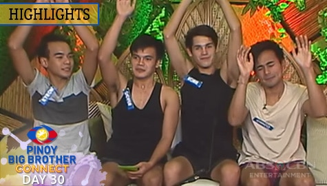 Day 30: Kyron, Liofer, Kobie at Chico, hinarap ang underarm waxing challenge ni Kuya | PBB Connect Image Thumbnail