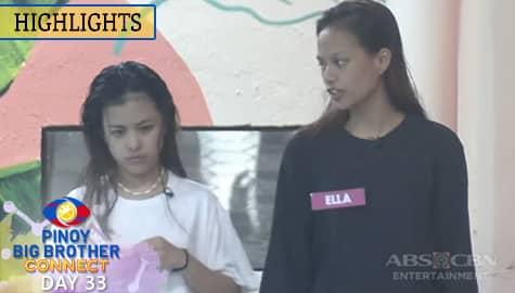Day 33: Ella, ikinuwento ang pag-uusap nila ni Kobie kay Andrea | PBB Connect Image Thumbnail