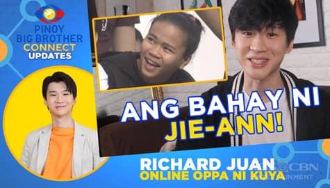Jie-Ann, nagulat na makita ang larawan ng kanilang bahay sa task ni Kuya | PBB Connect Update with Richard Juan Image Thumbnail