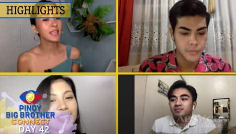 PBB Kumunect Primetime: Mika, Russu at Justin, nagbigay ng komento sa susunod na evictee   PBB Connect Image Thumbnail