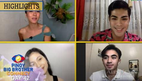 PBB Kumunect Primetime: Mika, Russu at Justin, humanga sa short film ng mga housemates | PBB Connect Image Thumbnail