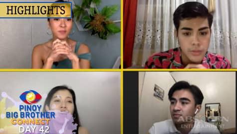 PBB Kumunect Primetime: Mika, Russu at Justin, nagbigay ng komento sa eviction ni Crismar | PBB Connect Image Thumbnail
