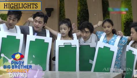 Day 43: Kuya, ibinigay na ang 7th weekly task ng mga housemates | PBB Connect Image Thumbnail