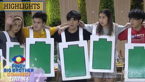 Day 44: Kuya, binawasan ang buhay ng housemates para sa kanilang weekly task | PBB Connect Image Thumbnail