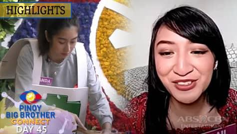 Day 45: Housemates, pinadalhan ng pagkain si Gail | PBB Connect Image Thumbnail