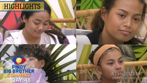Day 48: Aizyl, Ella, Kyron at Haira, kabilang sa listahan ng mga nominado | PBB Connect Image Thumbnail