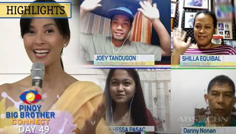 Day 49: Bianca, kinamusta ang pamilya ng mga nominado | PBB Connect Image Thumbnail