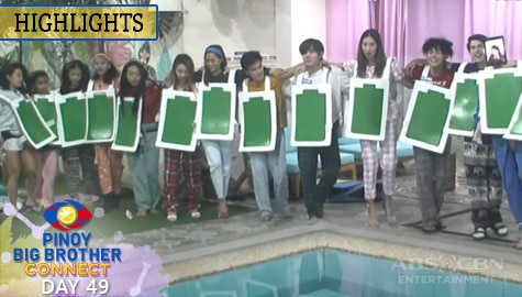Day 49: Housemates, panalo sa 7th weekly task ni Kuya | PBB Connect Image Thumbnail