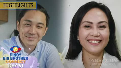 Day 51: Kuya, hiningi ang tulong nina Nene at Slater para sa weekly task ng housemates | PBB Connect Image Thumbnail
