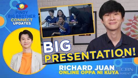 Slater Young at Nene Tamayo, naging big mentors ng housemates para sa kanilang task | PBB Connect Update Image Thumbnail