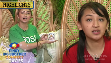 Day 55: Gail at Quincy, ipinakita ang kanilang sample product kay Kuya | PBB Connect Image Thumbnail