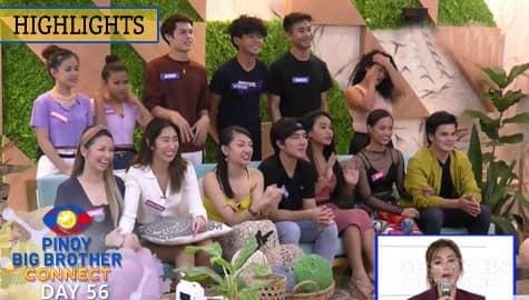 Day 56: Toni, kinamusta ang housemates matapos ang kanilang weekly task | PBB Connect Image Thumbnail