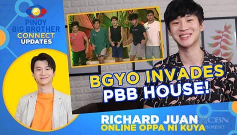 BGYO invades PBB House! | PBB Connect Update with Richard Juan Image Thumbnail