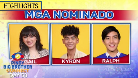 Day 58: Vote for Gail, Kyron and Ralph NOW! | PBB Connect Image Thumbnail
