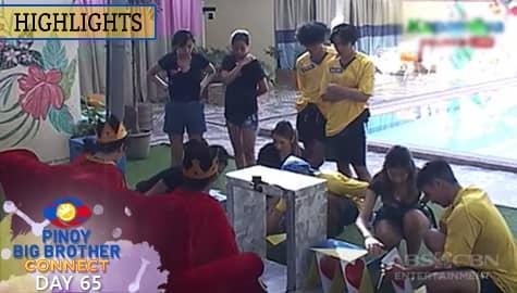 Day 65: Housemates, nag-isip ng plano para sa kanilang weekly task | PBB Connect Image Thumbnail