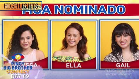 Day 69: Alyssa, Ella at Gail, kabilang sa listahan ng mga nominado | PBB Connect  Image Thumbnail