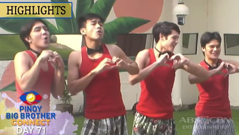 Day 71: Boys, hinarana at sinayawan sa Valentines Day ang mga Girls | PBB Connect Image Thumbnail